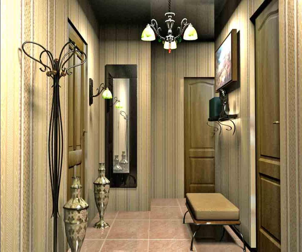 Дизайн интерьера прихожая коридор