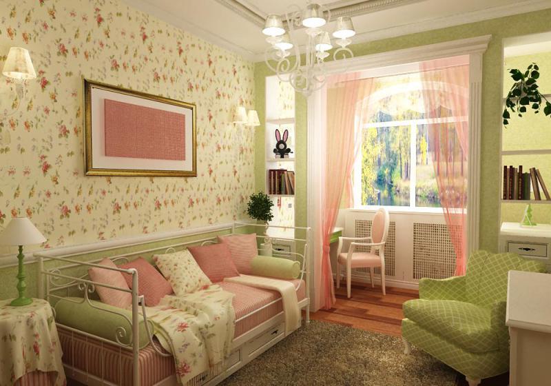 Дизайн квартиры в стиле прованс своими руками