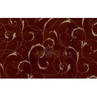 Gekkofix SCROLL OVERPRINT BROWN/GOLD 10229